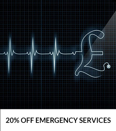 20% OFF British Emergency Services