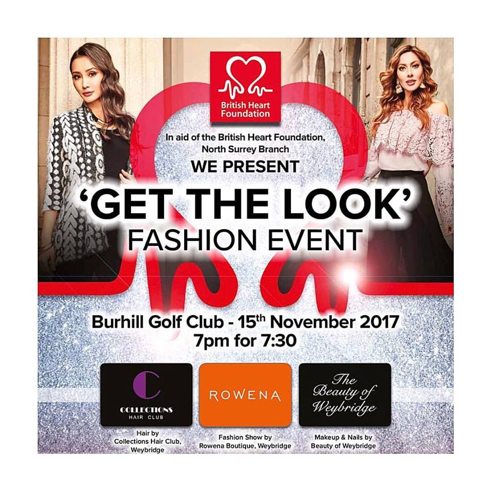 Join us at the 'Get The Look' Fashion Event