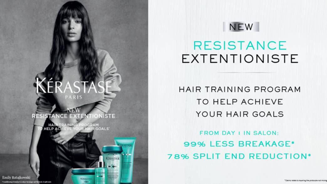 NEW Product Kerastase Resistance Extentioniste