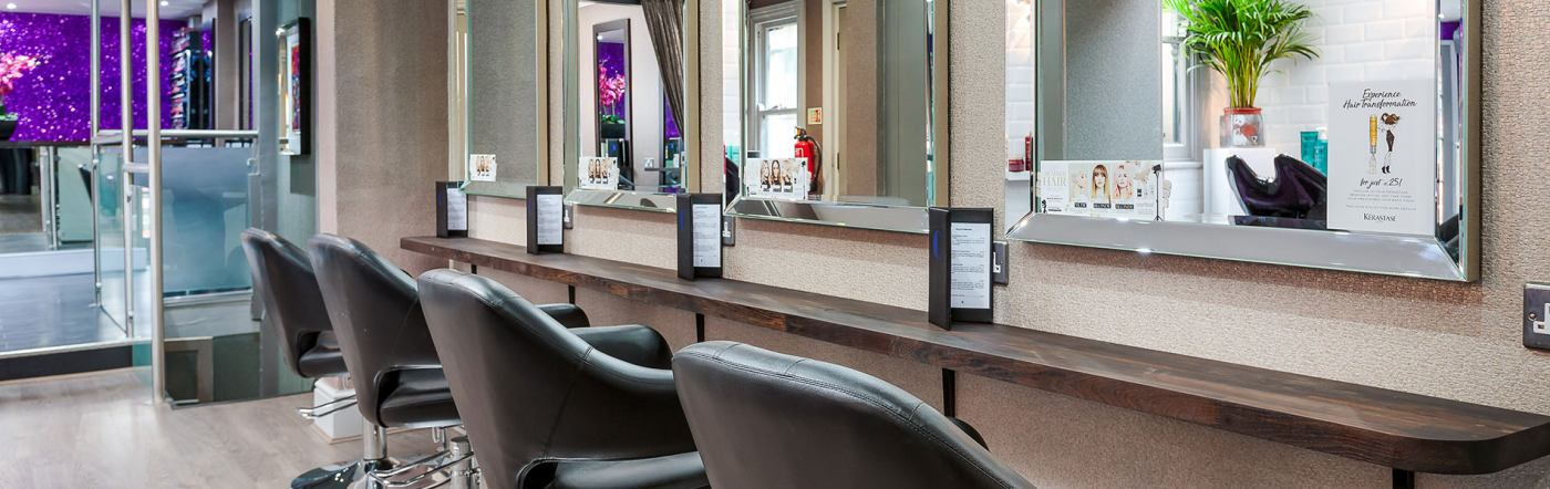 best hair salon Weybridge