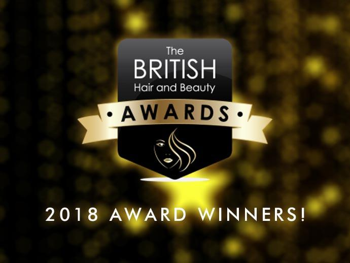 Collections Scoop Hair Salon Of The Year Award at British Hair and Beauty Awards
