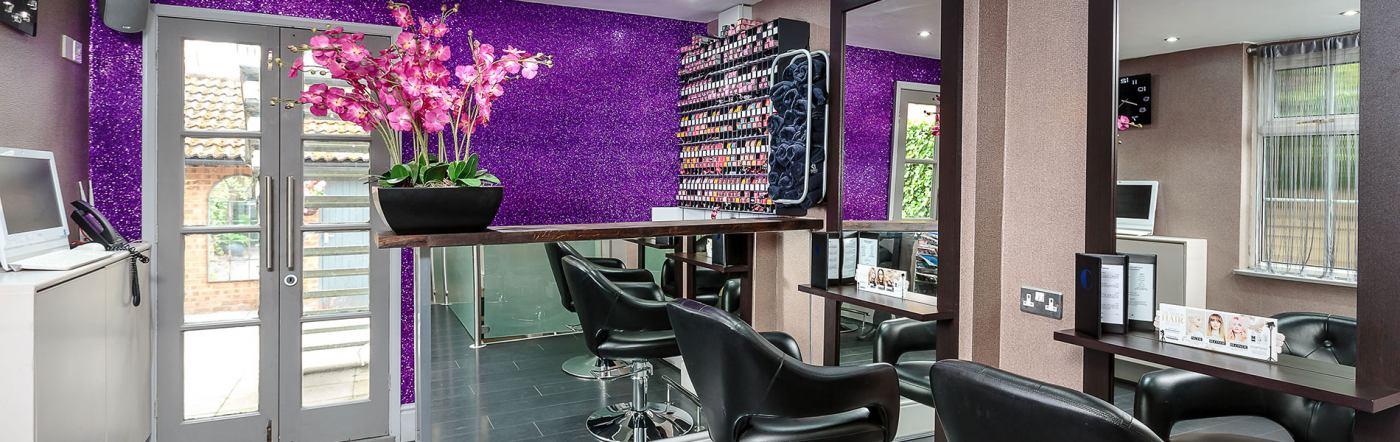 best beauty salon Weybridge