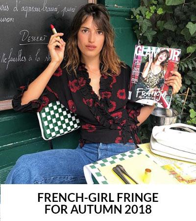 Did Someone Say 'French-Girl Fringe'? Oh Là Là!