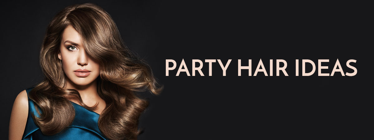 Glamorous Party Hairstyles At Collections Hair Club Salon In Weybridge