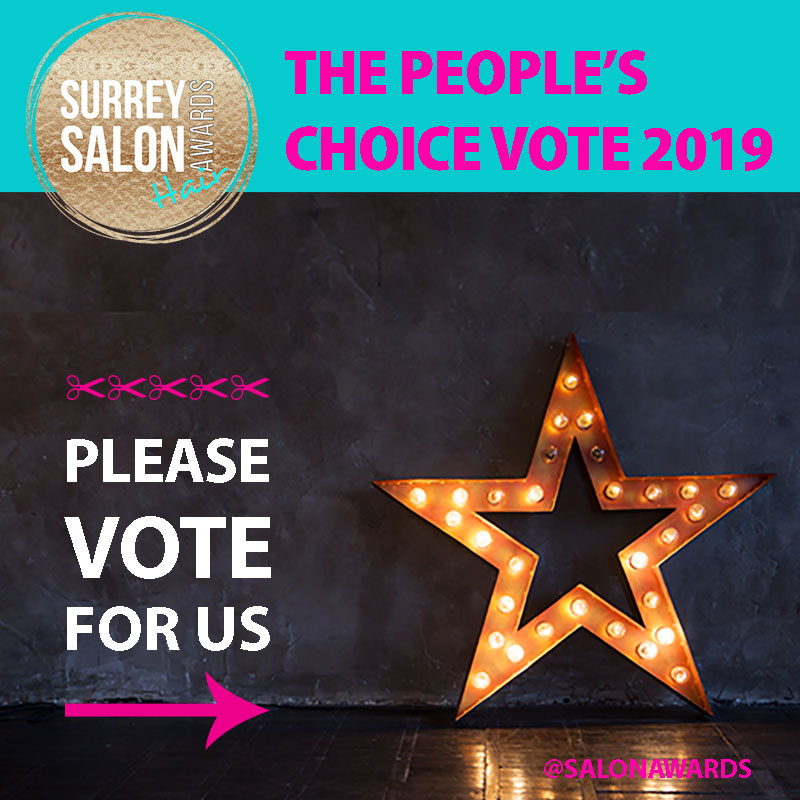 Help Us WIN Surrey Salon Awards 'People's Choice' Vote