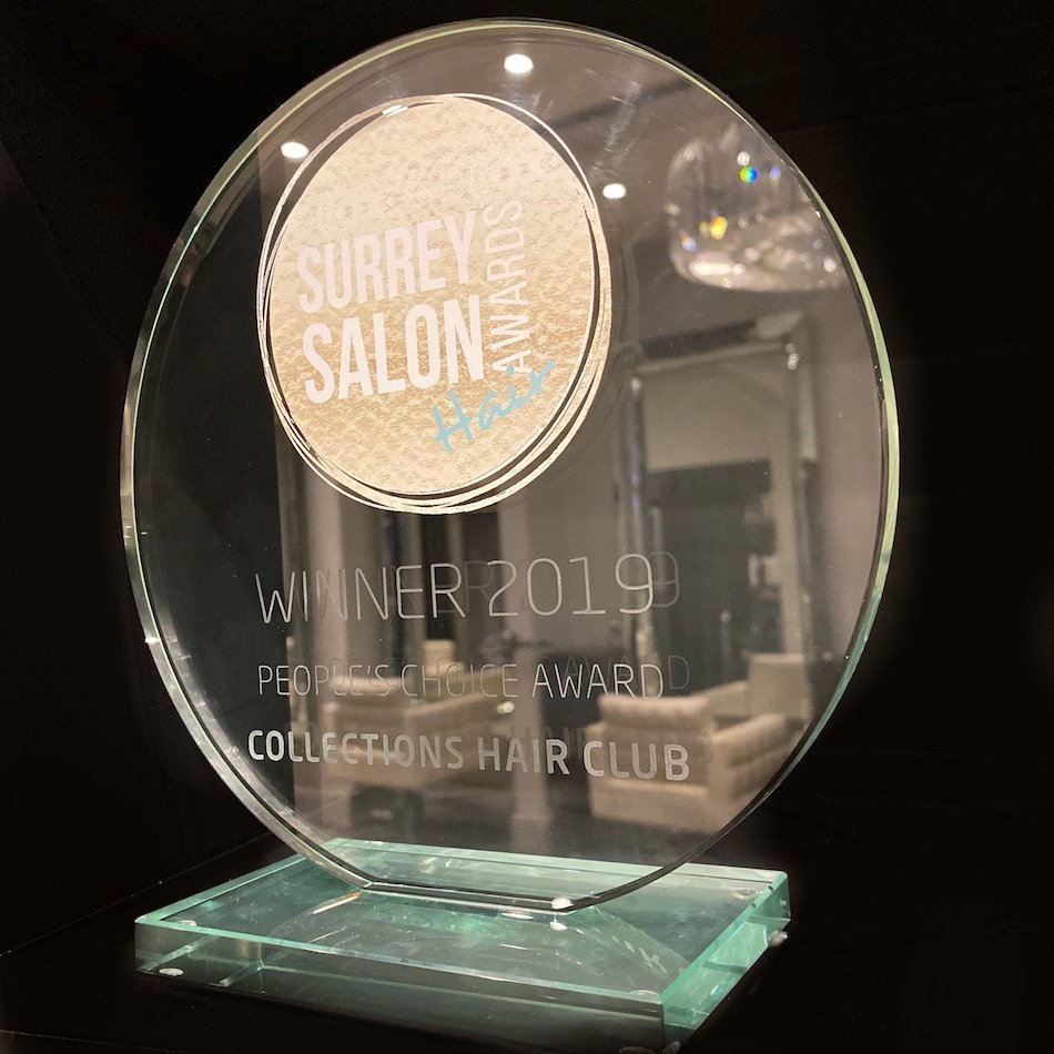 Collections Hair Club Scoop 'People's Choice' at Surrey Salon Awards
