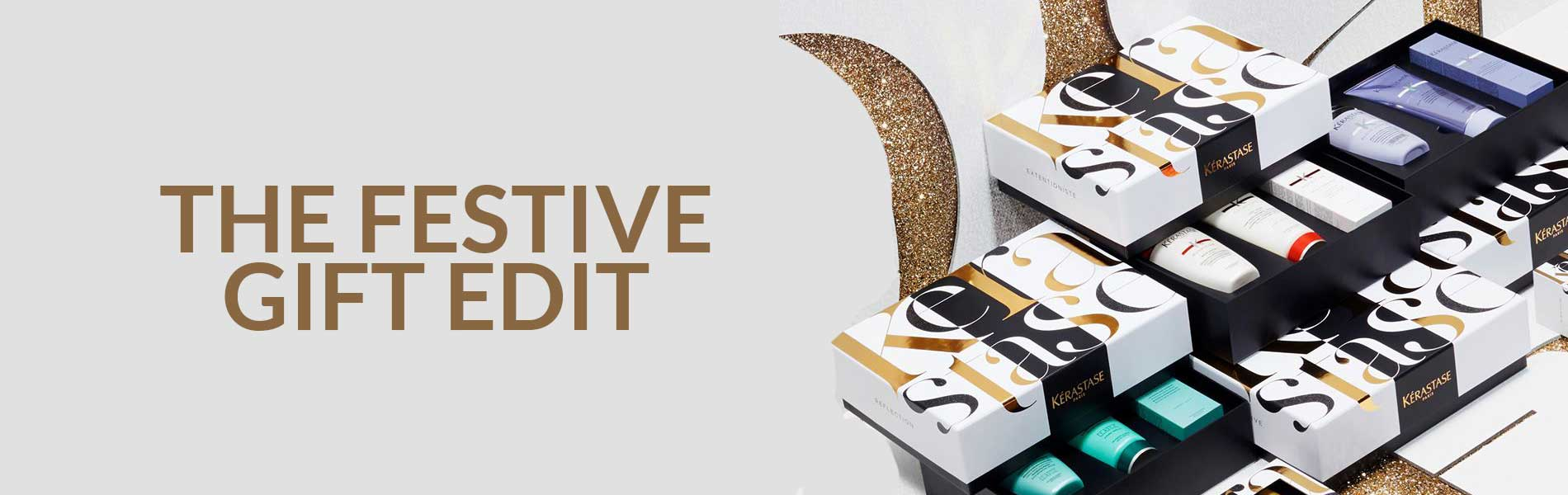 The Festive Gift Edit banner
