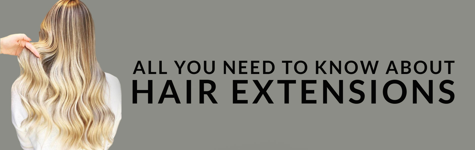Hair Extensions banner