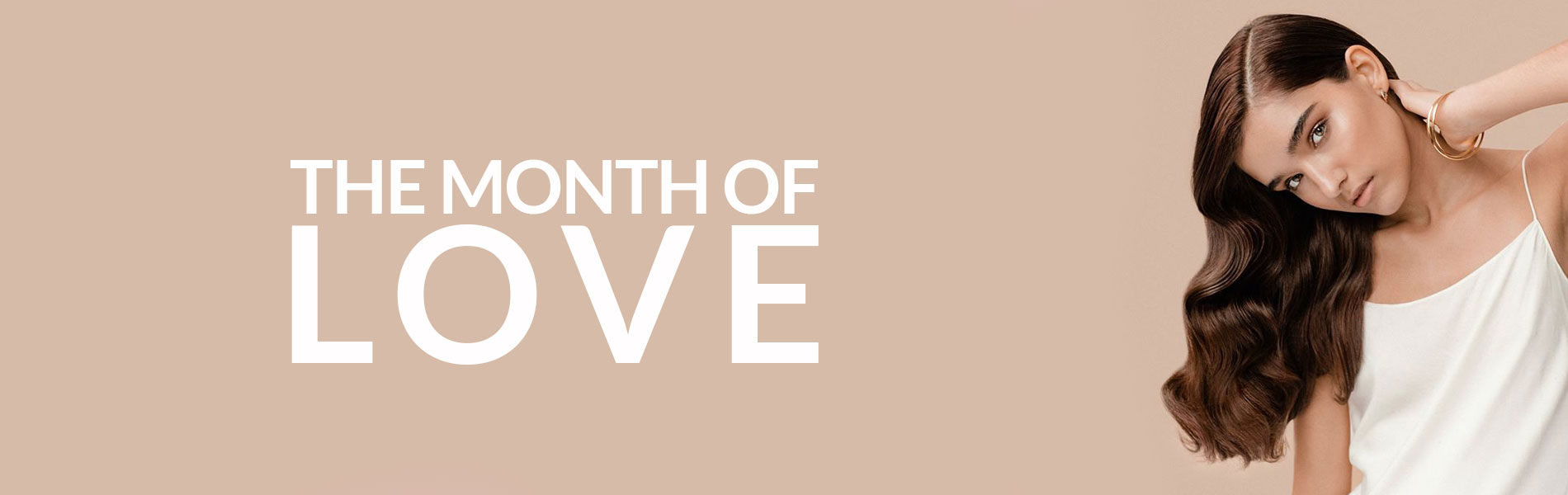 the month of love banner 2