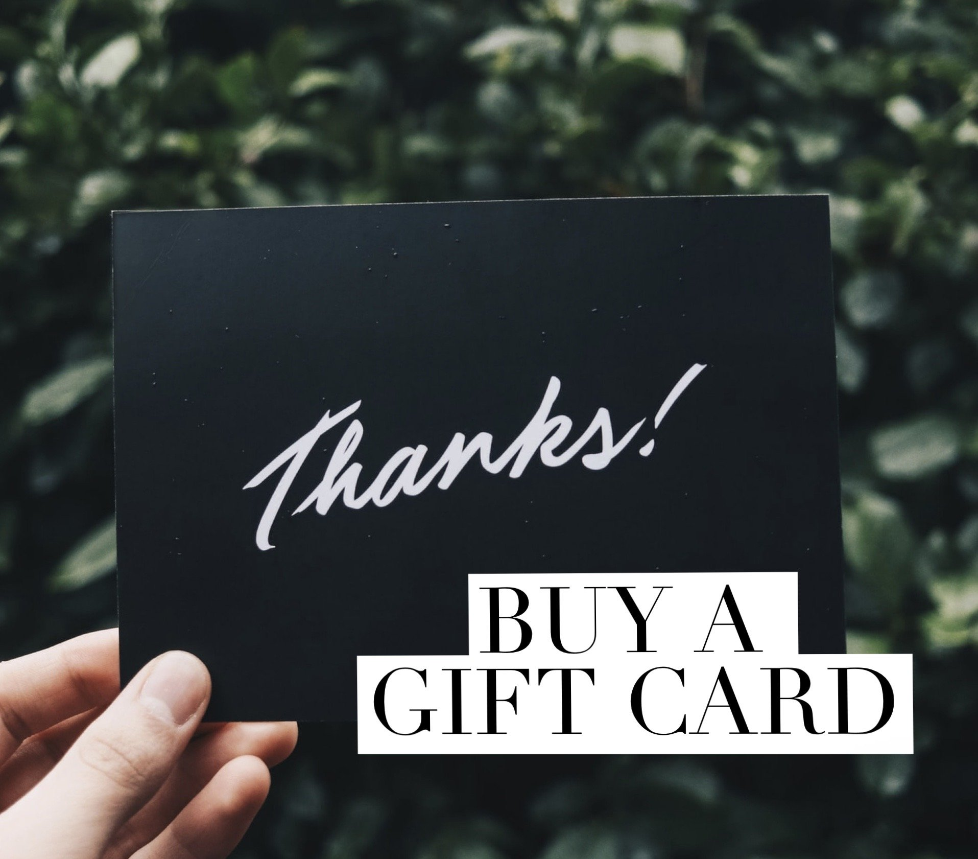 Gift Card Offer – This Offer Is Now CLOSED