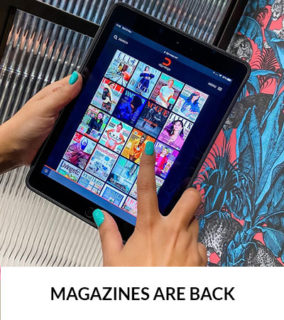 Magazines Are Back…& Contact-Free!