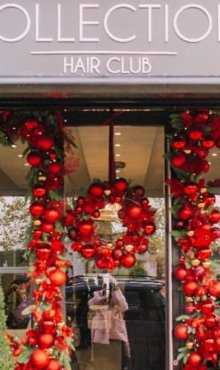 MERRY CHRISTMAS FROM COLLECTIONS HAIR CLUB SALON IN WEYBRIDGE