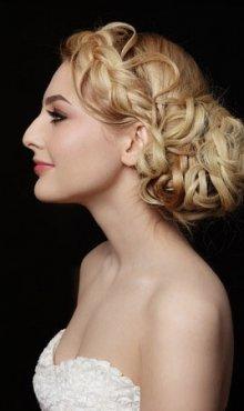Wedding and Bridal Hair Ideas at Collections Hair Club Salon Weybridge, Surrey